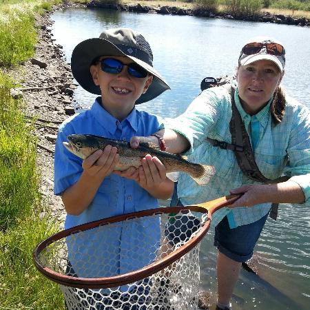 Nice trout picture of fly fish arizona and beyond mesa for Best fishing in arizona