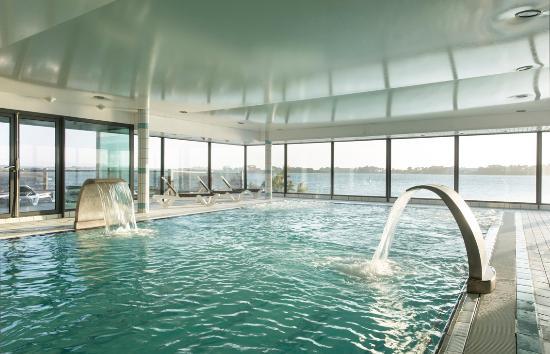 Les Résidences Spa de Rockroum : Piscine d'eau de mer