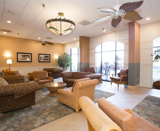 Lobby at the BEST WESTERN Orlando Gateway Hotel