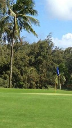 Kukuiolono Golf Course : First green