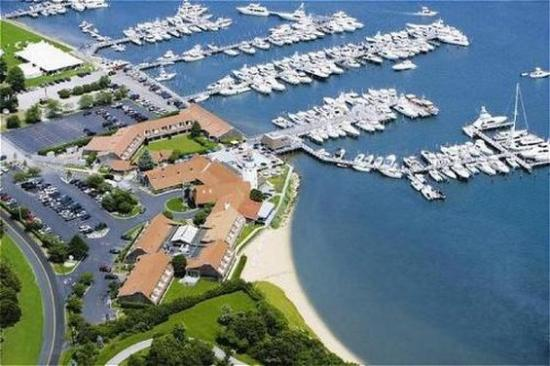 Montauk Yacht Club Resort & Marina: Aerial View of Resort & Marina