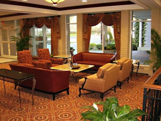 Clinton Inn Hotel Event Center Lobby