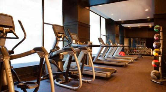 The Silversmith Hotel: Fitness Room