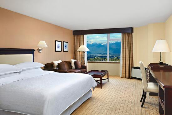 Sheraton Vancouver Guildford Hotel: Traditional King Guest Room
