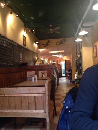 Cafe Concerto: Inside the restaurant