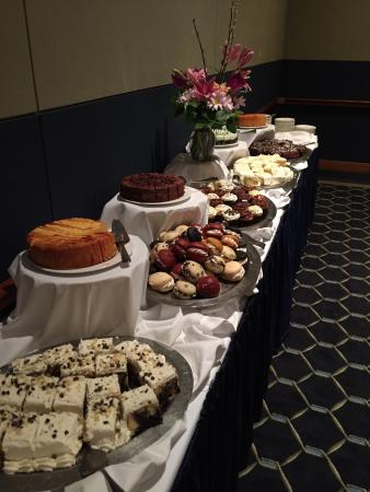 Penn Stater Conference Center: Dessert spread at lunch.
