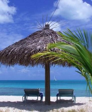 Cocobay Resort: Beach Shade