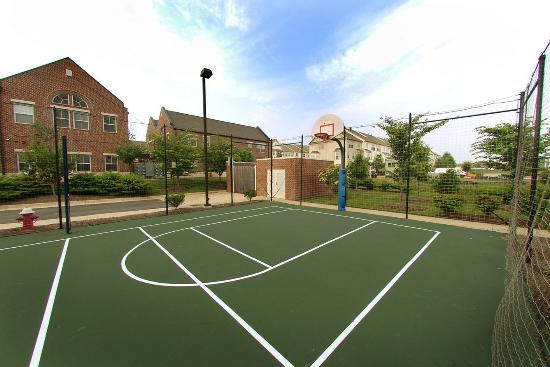 Hampton Inn Dulles-Cascades: Outdoor Sport Court