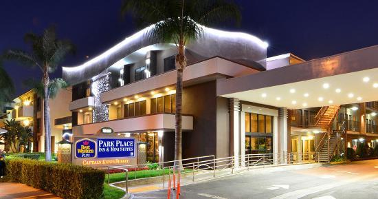 Best Western Hotel Across The Street From Disneyland