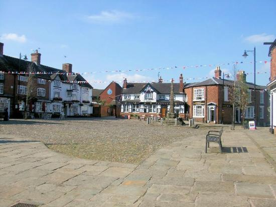 Sandbach, UK: The Market Square