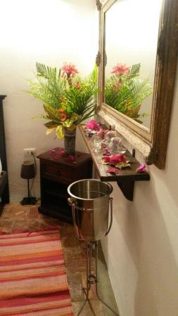 Foto de Hotel Posada La Bokaina Choron Habitaciones decoradas