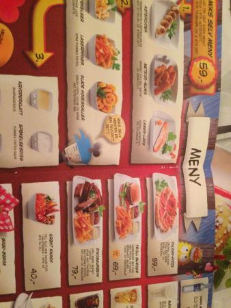 Jensens Bofhus: Childrens menu