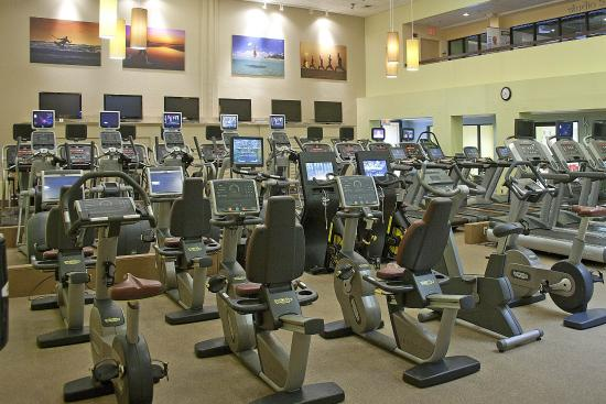 Shula's Hotel & Golf Club: Athletic Club Cardio Room