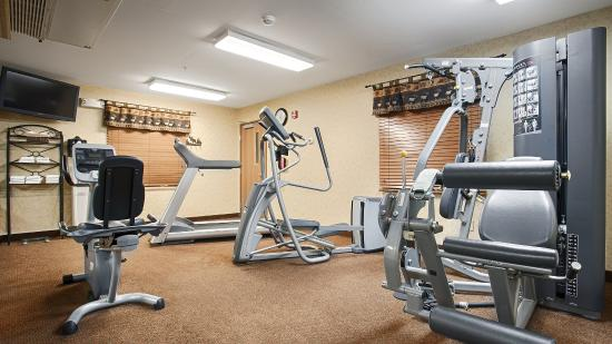Best Western Plus Kelly Inn & Suites: Fitness Center