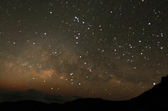 Temptation Tours: Picture of the constellation of Scorpio while we waited for sunrise (about an hour before).