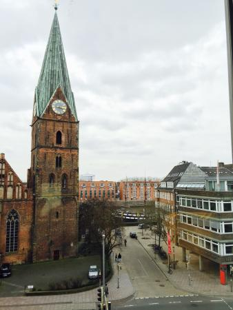 Atlantic Grand Hotel Bremen: Blick aus Hotelzimmer...👍
