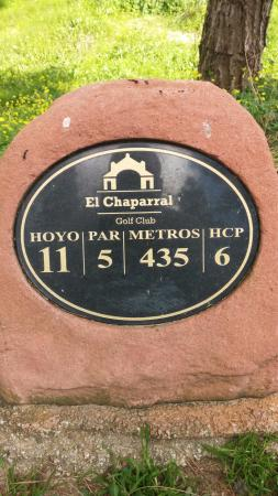 El Chaparral Golf Club: Tough!!
