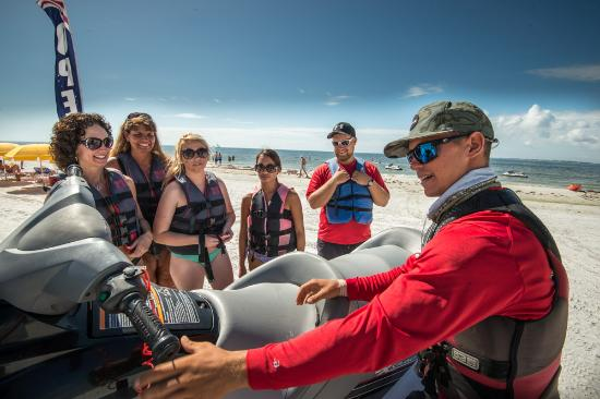 Holiday Water Sports: Instructions in progress!