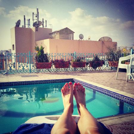 San Marco Hotel: Бассейн на крыше