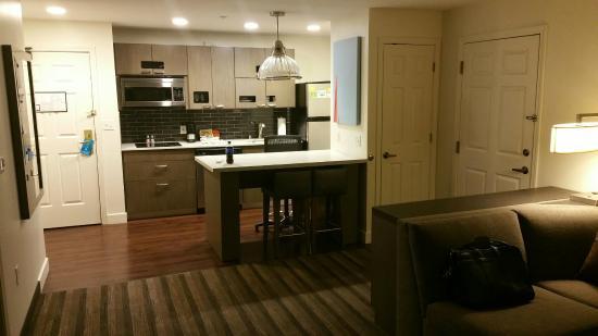 HYATT house San Diego/Sorrento Mesa: kitchenette