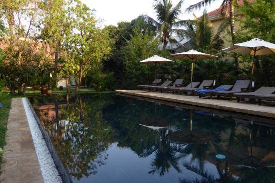 Pavillon d'Orient Boutique-Hotel: great pool area