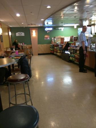 In subway under Mayo - Review of Quiznos, Rochester, MN