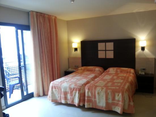 Hotel Ciutadella : notre chambre