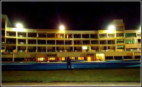 Sagar Darshan Somnath Trust Full View Of The Hotel From Beach