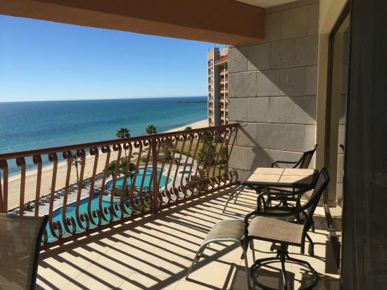 Sonoran Sun Resort: Our balcony in East wing on 6th floor