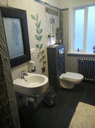 Hostel Selfoss: Les toilettes Odin de l'aj