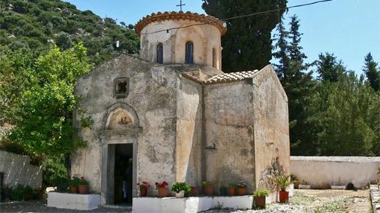 Panagia Gouverniotissa, Potamies, Crete, Greece