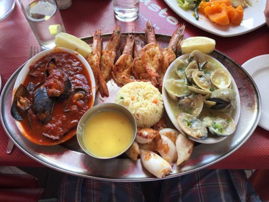 IL Gusto Ristorante : Seafood plater