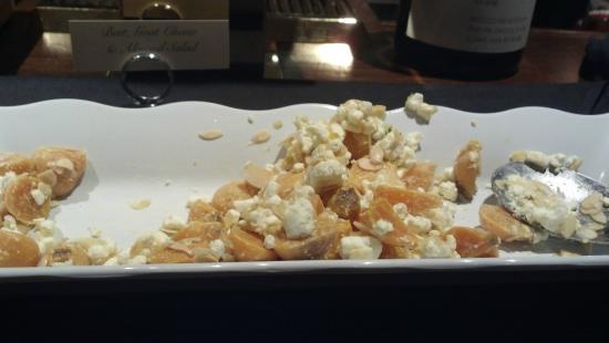 Ho Ho Kus Inn Brunch - Beet, goat cheese & almond salad