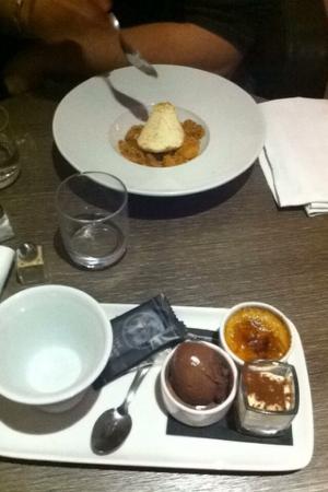 L'endroit - Lyon Vaise: Parfait poire Williams Thé gourmand