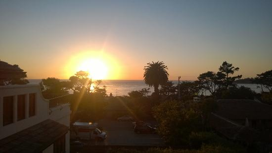 La Playa Carmel: Sunset from the terrace