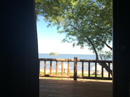 Finca San Juan de la Isla: The porch looking from inside