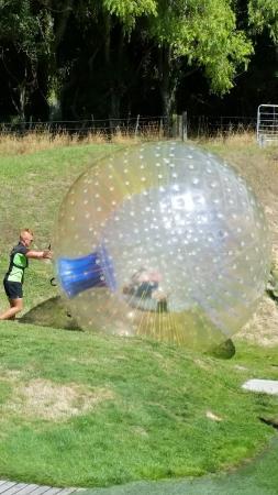 OGO Rotorua : Having a Ball.