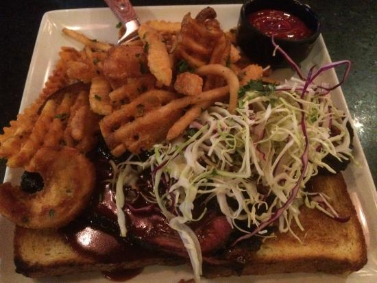 BBQ Brisket - Picture of Guy Fieri\'s Vegas Kitchen and Bar, Las ...