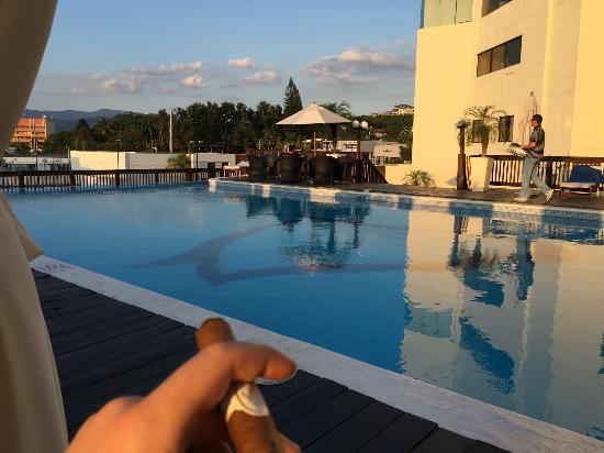 Hodelpa Gran Almirante Hotel & Casino: The pool