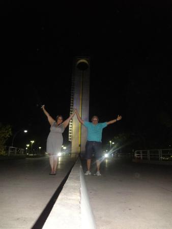 Monumento Marco Zero: meio do mundo!