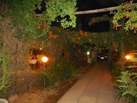 The Kora: Outdoor setting
