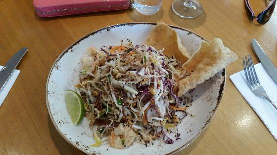 The Boathouse: Vietnamese coleslaw, prawns, peanuts, coriander & nouc mam