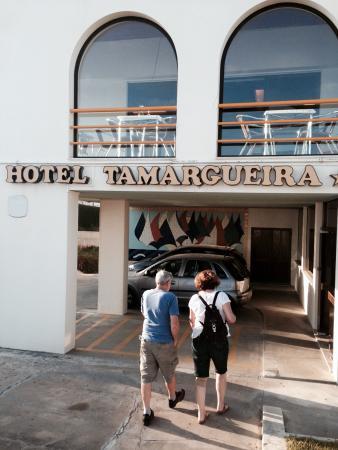 Hotel Tamargueira: Entrada do hotel