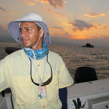 Blue Reef Adventures Ltd: Randy at sunrise