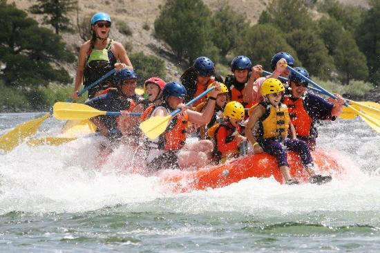Gardiner, MT: Paardise Rafting Whitewater Adventure