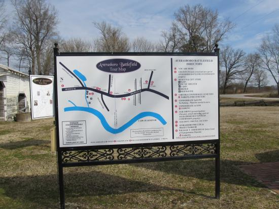 Averasboro Battlefield & Museum: Map