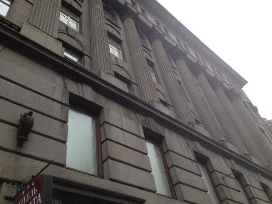 Hotel Sonata at Gorokhovaya: Parte superior do prédio