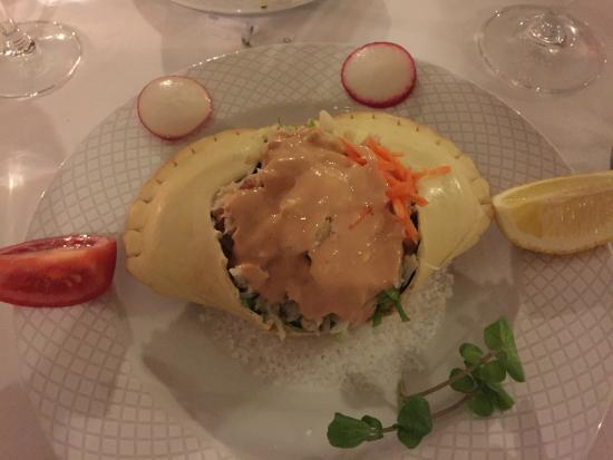 O Arco: The special of the evening - Crab salad!