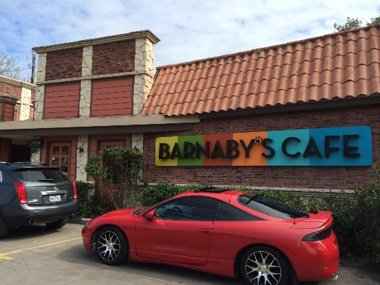 Barnaby's Cafe: Front of restaurant