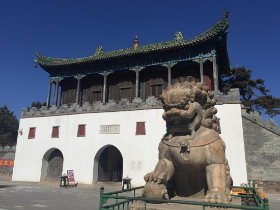 Potala Palace (Putuo Zongcheng Temple): Eingangsbereich